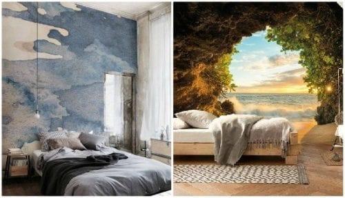 ورق جدران غرف نوم 2020