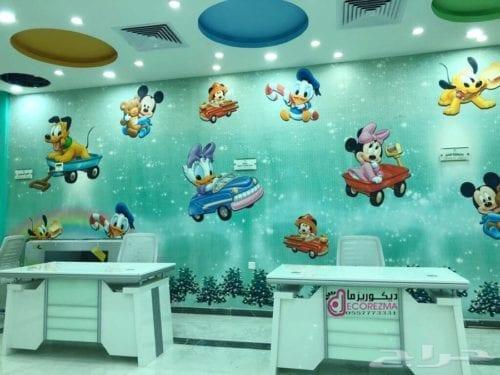 ورق جدران غرف الأطفال
