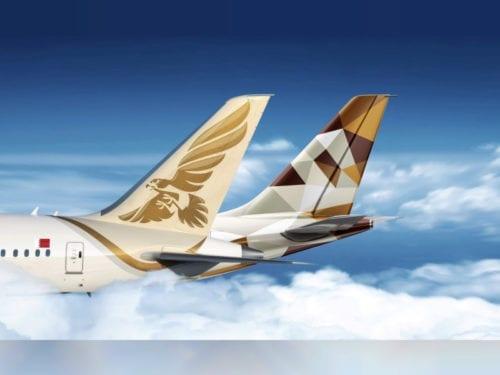 طيران الخليج ابوظبي
