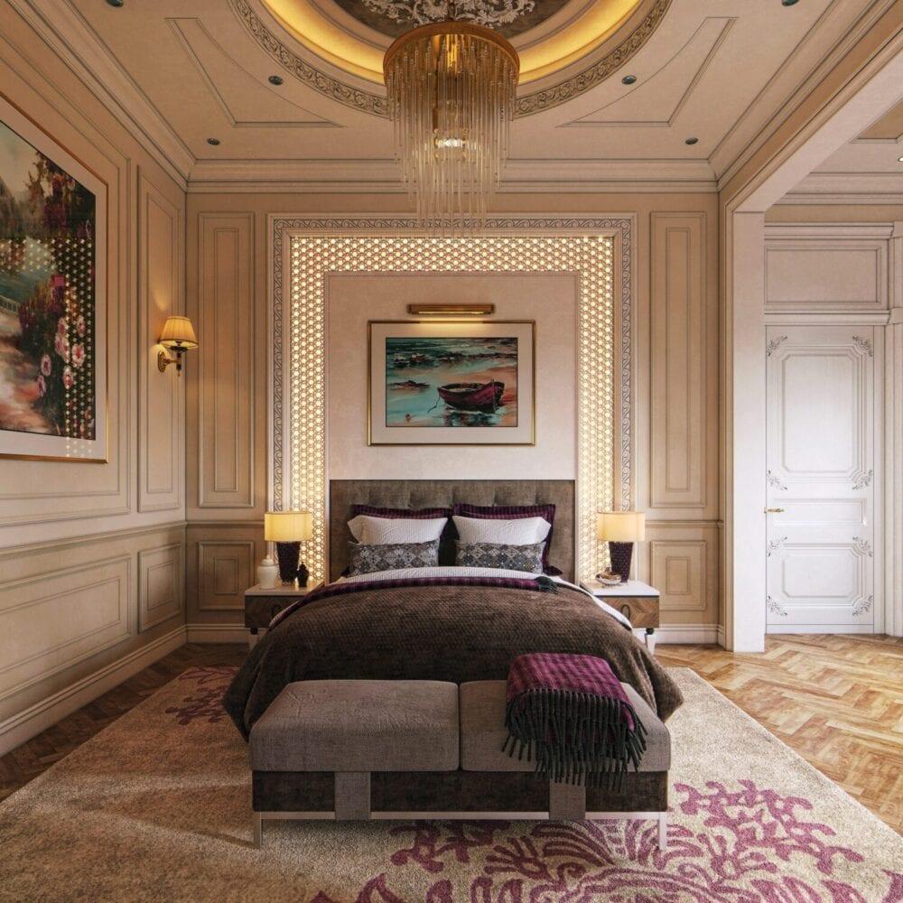 ديكورات غرفة نوم راقية
