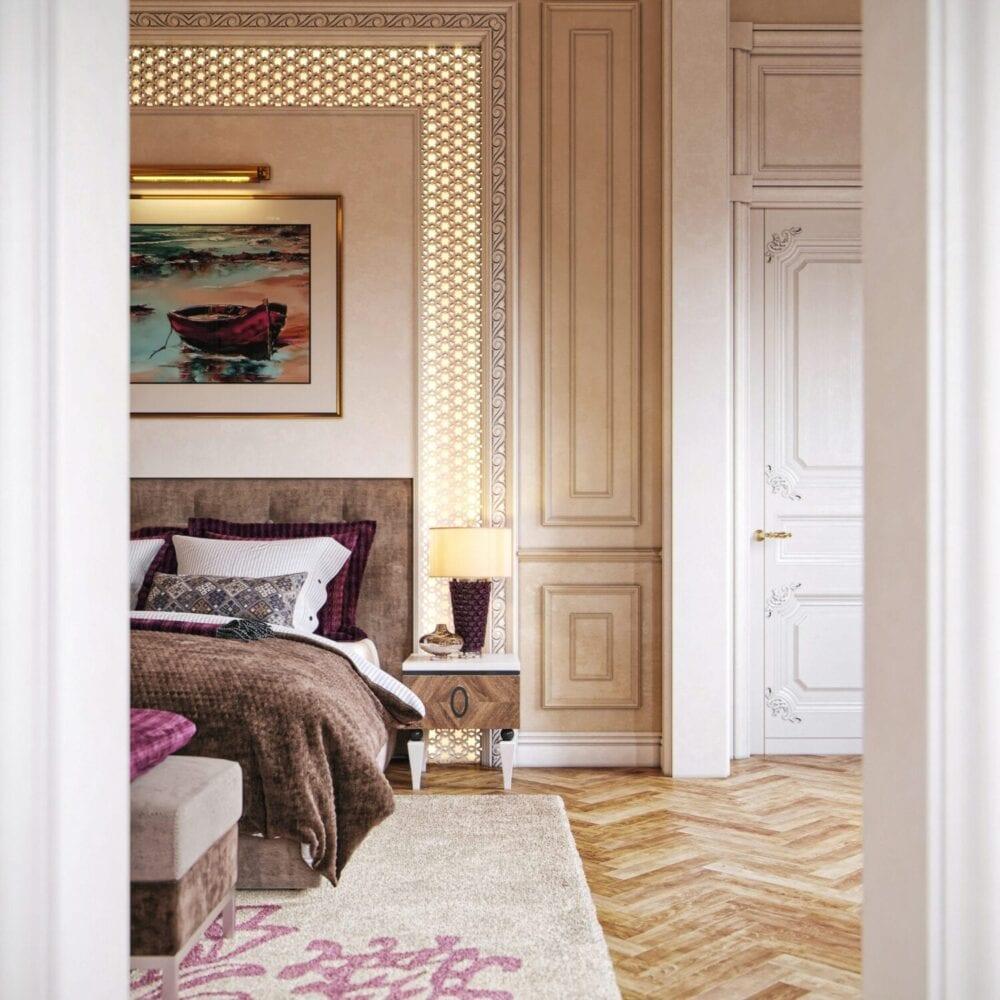 ديكورات غرفة نوم راقية 2