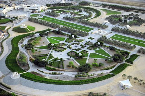 Khalifa Park Abu Dhabi Events Bus Number Fees Water Park Library