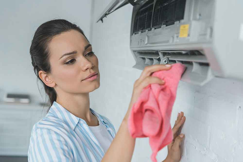 Women Heating and cooling service